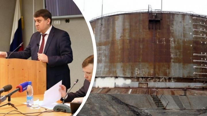 Экс-мэра Норильска приговорили к исправительным работам за халатность из-за утечки дизтоплива