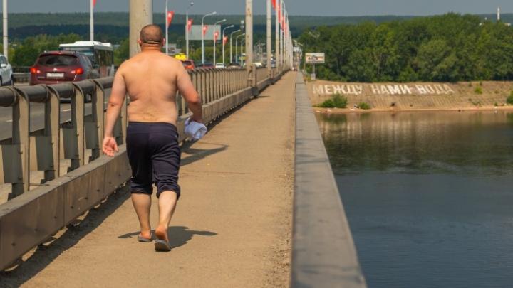 Синоптики прогнозируют новые рекорды аномальной жары в Прикамье