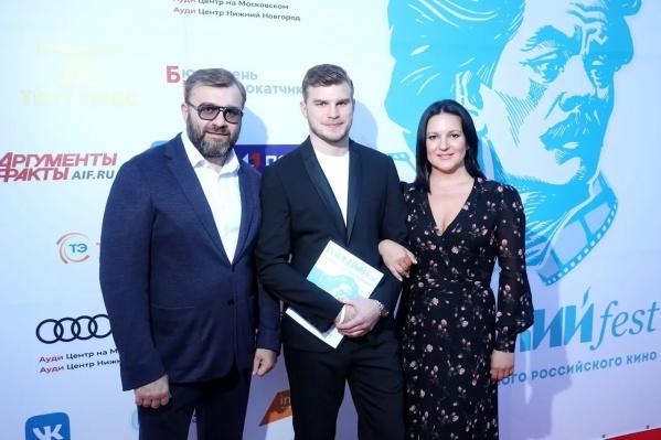 Михаил Пореченков, ВладимирЛюбимцев и Оксана Михеева