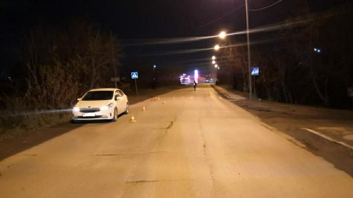 В Дзержинском районе автомобиль сбил ребенка на пешеходном переходе