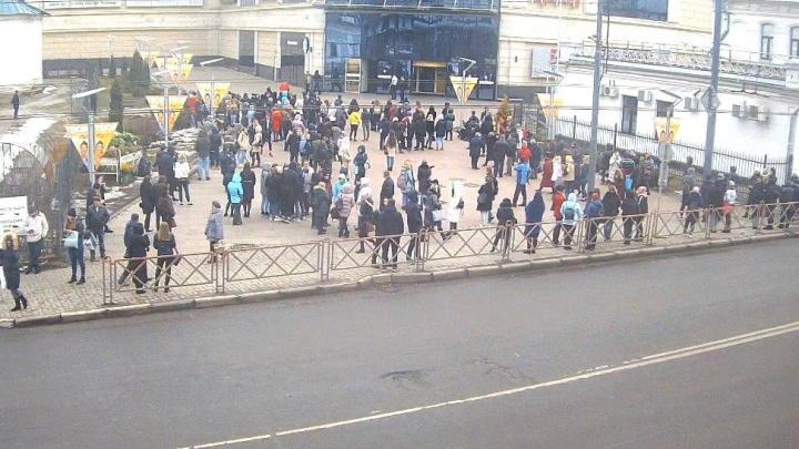 В Ярославле эвакуировали торговый центр «Аура»: что случилось