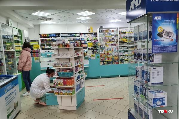 Три аптеки пострадали от действий грабителя в Ярославле