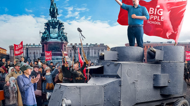 Промоутер революции, «черно-белый» вождь, Чернобыль и 9 Мая: преподаватель из Великобритании пытается разобраться в истории России XX века