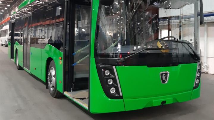 Зеленые и с новым дизайном: как будут выглядеть автобусы, которые собрали для Екатеринбурга