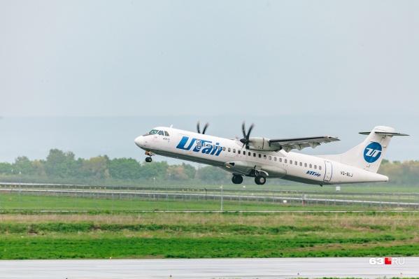 С 17 июля в столицу южного Урала будут летать две авиакомпании: иUtair, и «РусЛайн»