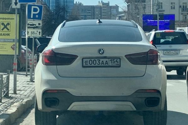 BMW на улице Ленина