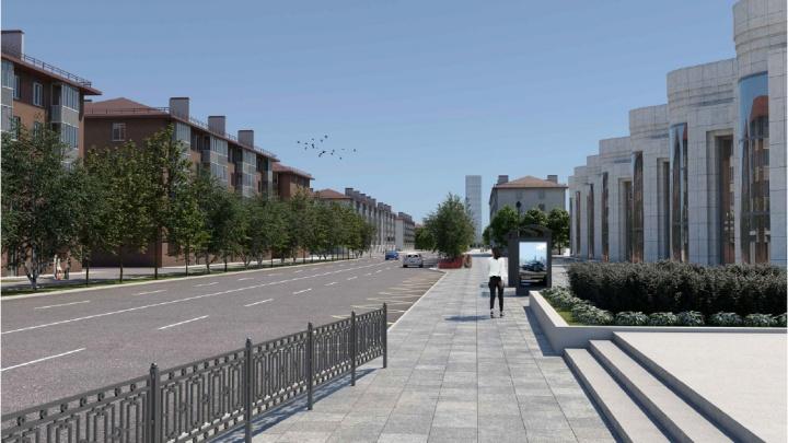 Уберут парковки и сделают выделенки: первые эскизы глобальной реконструкции улицы Малышева