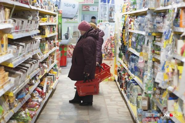 Цены на продукты в Зауралье в этом году выросли почти на 4,5%