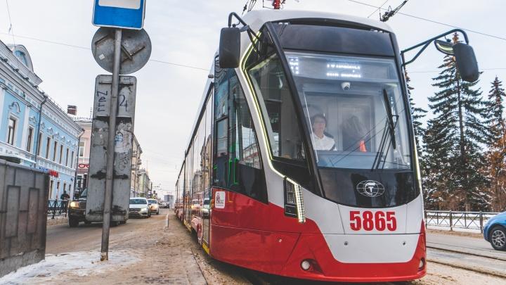 Для Перми закупят еще 15 новых трамваев