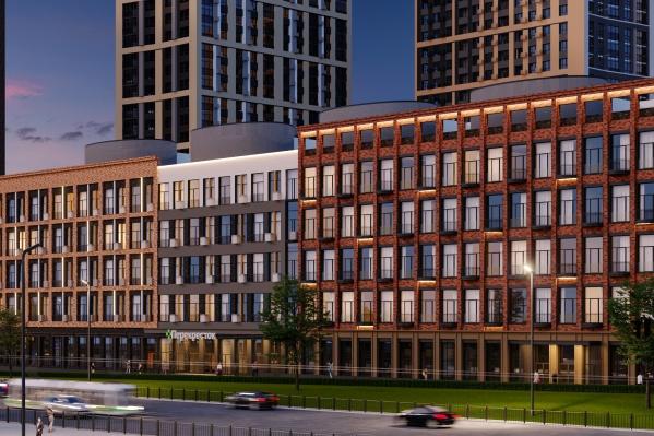Знаковый квартал «Конди Нова» представляет собой ультрасовременный архитектурный проект из шести домов комфорт-класса