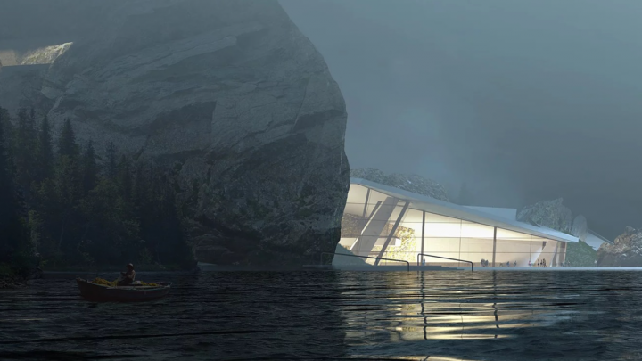 Архитекторы предложили построить SPA-отель в пещере на Вишере: смотрим эскизы проекта