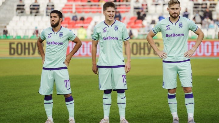 «Уфа» сыграла вничью с последней командой Премьер-лиги