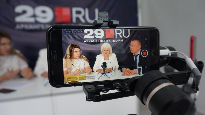 Прямой эфир 29.RU: обсуждаем проблемы медицины с главой Минздрава, ректором СГМУ и главврачом