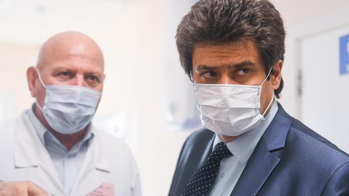 Мэр Екатеринбурга Александр Высокинский сдал тест на коронавирус