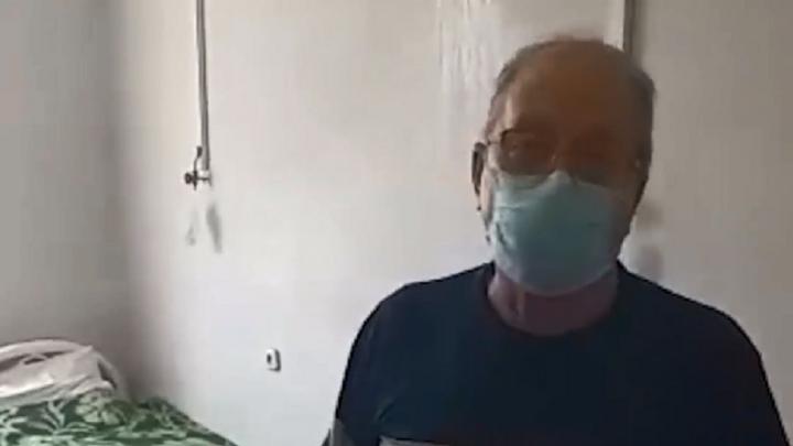Пульмоцентру в Волжском дали отопление, волгоградцев с пневмонией переселили в палату с водой