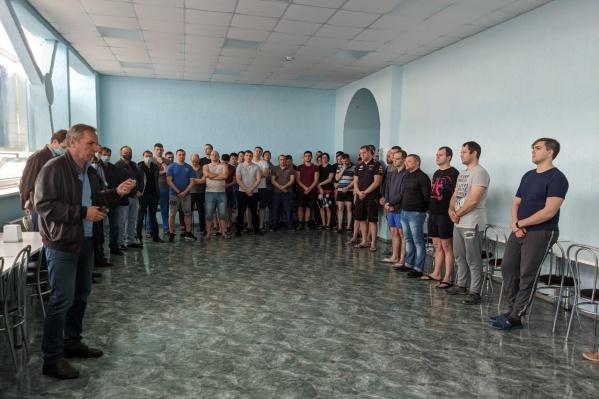 На волгодонской АЭС на изоляцию отправили 270 работников
