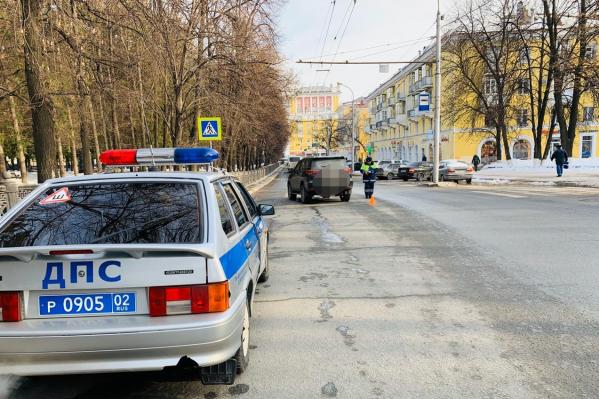 ДТП случилось в районе Черниковки