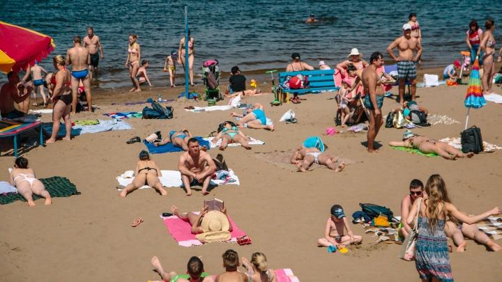 Карантинный загар: жители Самары открыли COVID-ный пляжный сезон