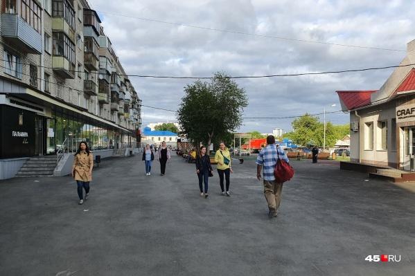 Курганцы гуляют, несмотря на действие режима самоизоляции