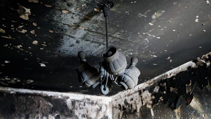 Очаг был в коридоре: в Волгоградской области при пожаре погибли женщина и ее сын