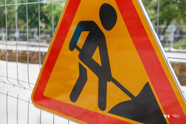 Рабочие обещают закончить ремонт к следующему понедельнику