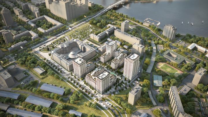 Новый квартал на месте трехэтажек за Макаровским мостом начнут строить через две недели