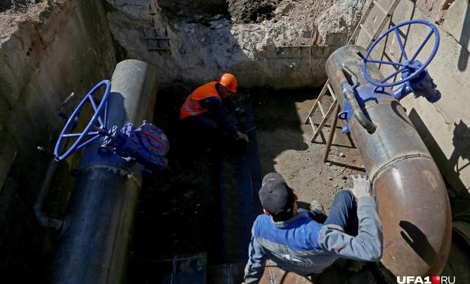 Стал известен график отключения горячей воды в Уфе в мае