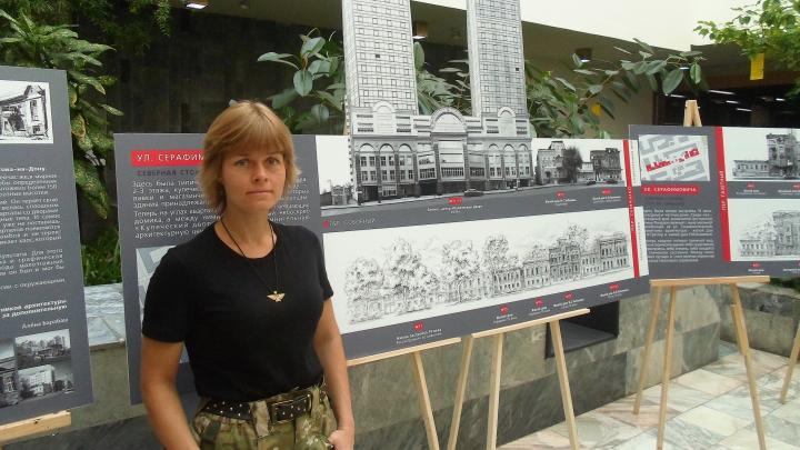 Художница воссоздала облик уничтоженных домов старого Ростова. Вот что получилось