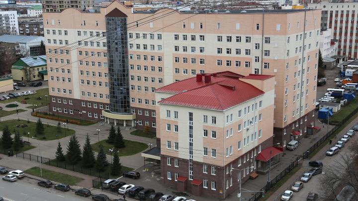 В Уфе развернут ковид-госпиталь в РКБ имени Куватова