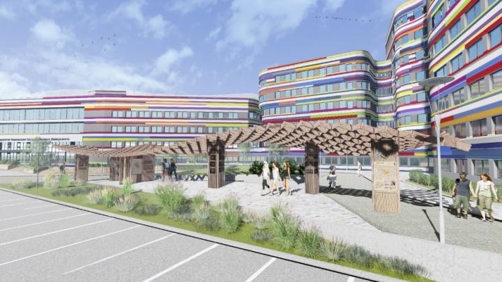 Губернатор: скандальное строительство кампуса в логу реки Тюменки приостановлено