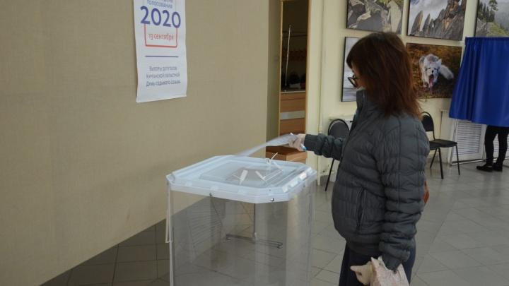 Избирком Зауралья озвучил процент явки избирателей на выборах депутатов облдумы