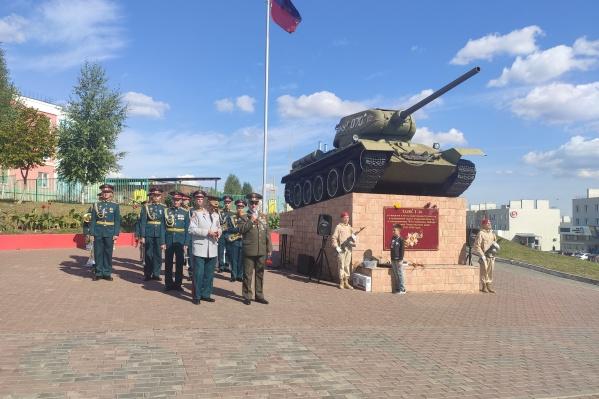 Военный памятник — одна из главных достопримечательностей микрорайона