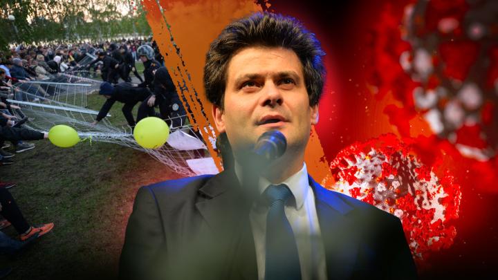 «Хватит с нас реформ!»: онлайн с итоговой пресс-конференции Александра Высокинского
