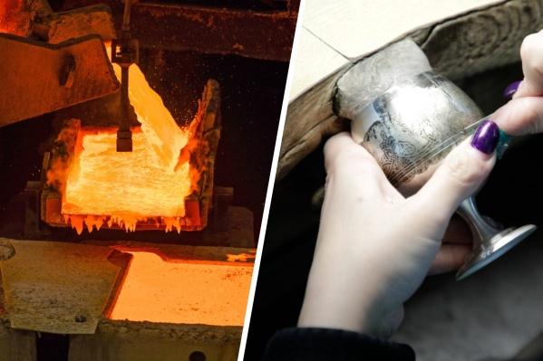 Путь уникальных серебряных украшений начинается с уральских цехов завода в Кыштыме