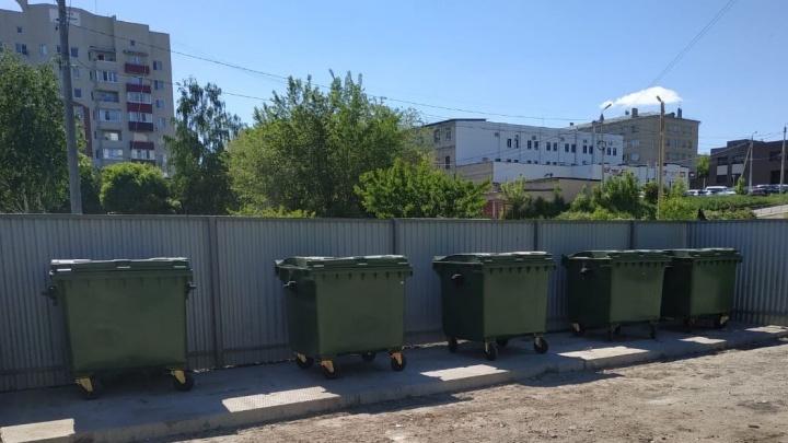 Стало известно, сколько контейнерных площадок отремонтировали в Самарской области за полгода