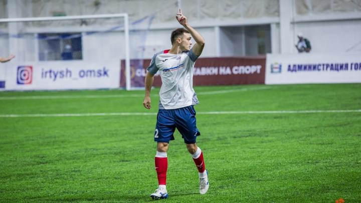 Омский «Иртыш» заработал вторую победу в ФНЛ за отменённый матч