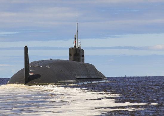 Подлодка «Князь Владимир» вышла в Белое море и направилась в базу Северного флота Гаджиево