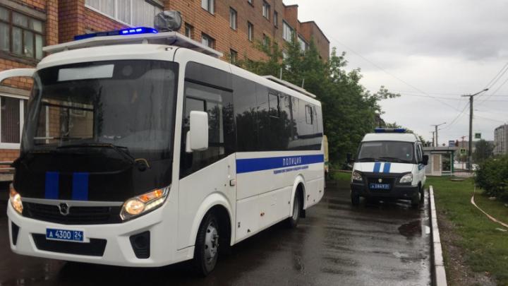 В Красноярске совершено нападение на инкассаторов. Неизвестные скрылись с деньгами