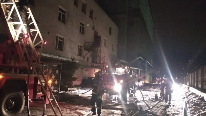 В Перми из-за пожара эвакуировали сотрудников Мотовилихинских заводов