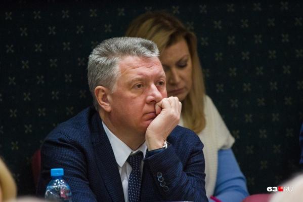 Дмитрий Шляхтин работал министром с 2012 года