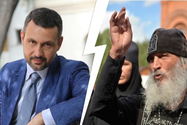 Представитель РПЦВладимир Легойда заявил, что не может назвать проповедями обращения, записанные схимонахом Сергием