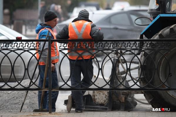 На дорогах заменят асфальт и обновят разметку