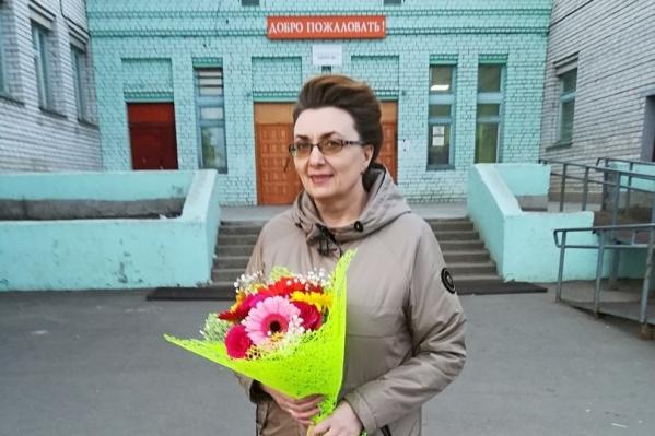 Мария Томилова работает в школе № 1 Онеги