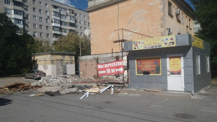 Восставший из руин: в Волгограде легендарный магазин «Крокус» сохранил место под солнцем