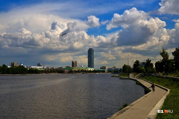 В ближайшие дни в Екатеринбурге будет облачно, но без дождей