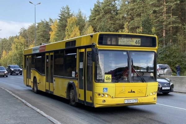 Автобус будет делать остановки около кладбищ