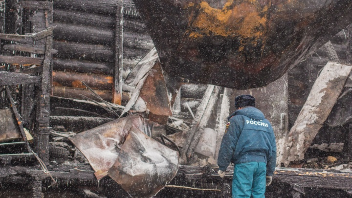 В Самарской области во время пожара погибли два человека