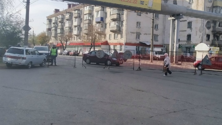 В Кургане «Водный Союз» досрочно завершил работы на улице Коли Мяготина
