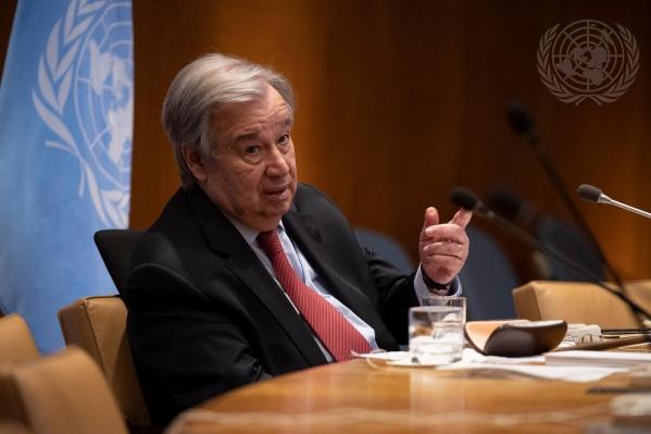 Антониу Гутерриш заявил, что надеется на продолжение сотрудничества ООН и УрФУ