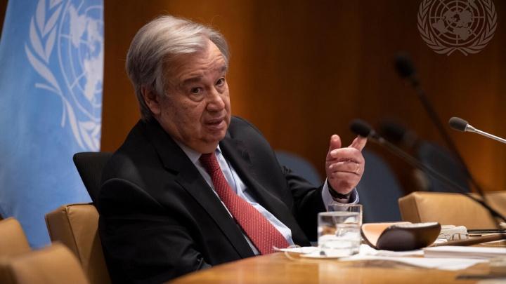 Генеральный секретарь ООН поздравил УрФУ со столетием